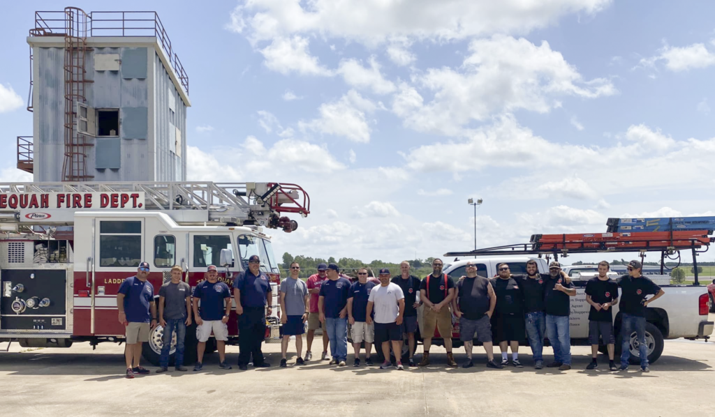 Accurate Fire Equipment and Tahlequah Fire Department